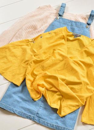 Желтая блуза primark