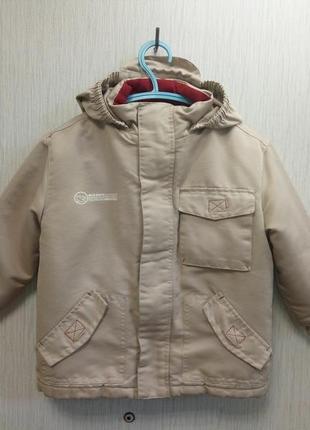 Куртка деми team sensino на 2,5-4 года