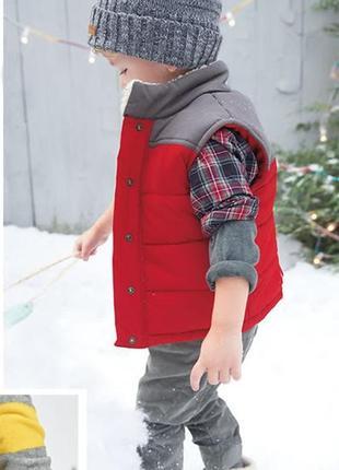 Модная  детская жилетка демисезонная carters картерс 3 года