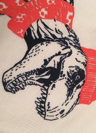 По-настоящему крутой термик, термо лонгслив с динозавром4 фото