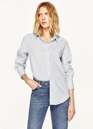 Zara рубашка-трансформер , м6 фото