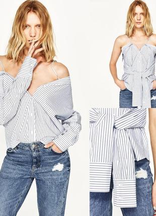 Zara рубашка-трансформер , м3 фото