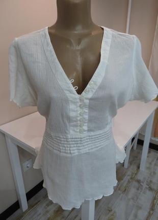 Нежная блуза из тонкого хлопка