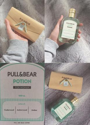 Парфюм туалетная вода духи новые pull&bear potion унисекс древесный