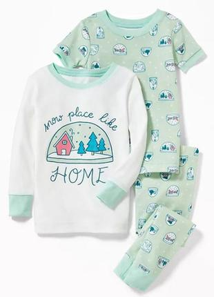 Пижама для девочки на 4, 5 лет олд неви