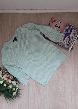Мятный свитерок хс forever 21