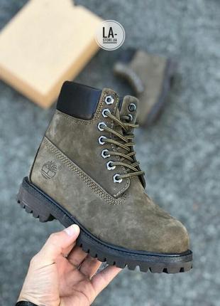 Новинка! шикарные женские зимние ботинки timberland на меху (овчина)