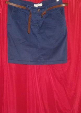 H&m юбка с ремнем