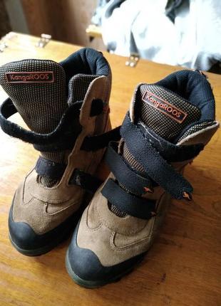 Зимние трекинговые высокие ботинки kangaroos
