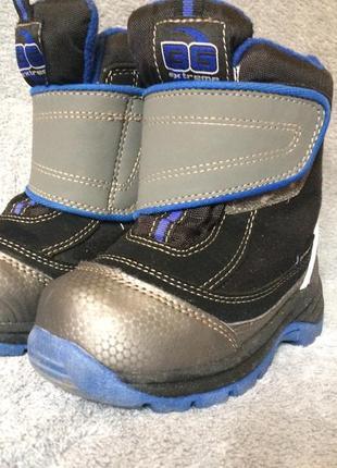 Термо ботинки сапожки b&g 24
