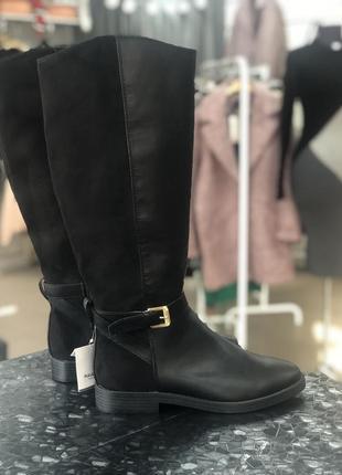Сапоги pull&bear, осінні чоботи,осенние сапоги
