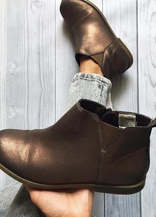Крутые демисезонные ботинки gap