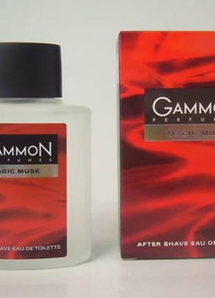 Gammon magic musk туалетная вода после бритья лосьон