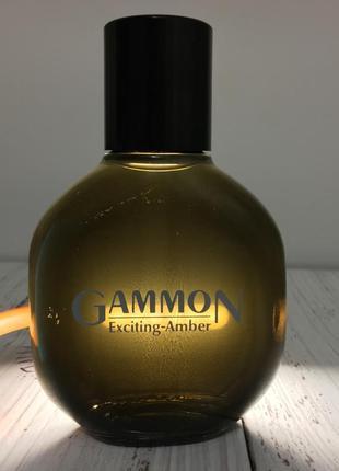 Gammon exciting amber туалетная вода лосьон после бритья