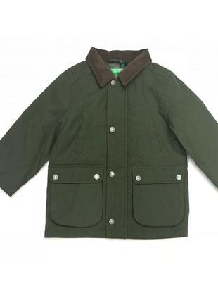 Распродажа новая демисезонная зеленая куртка для мальчика, benetton, 032590012