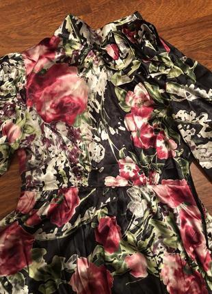 💫✨ шикарная шелковая блуза в цветочный принт ✨💫