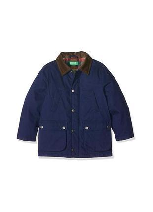 Распродажа новая демисезонная синяя куртка для мальчика, benetton, 032590100