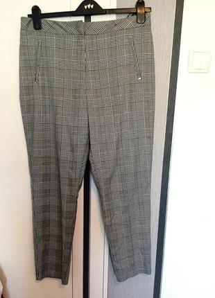 Зауженные брюки в клеточку от f&f