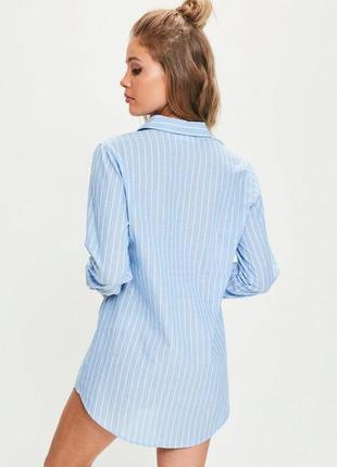 Стильная рубашка-платье с вышивкой3