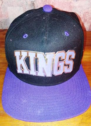 Подростковая бейсболка kings, mitchell&ness, оригинал