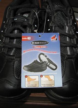 Кроссовки для фитнеса, похудения walkmaxx, как skechers, mbt р.40, ст. 26 см