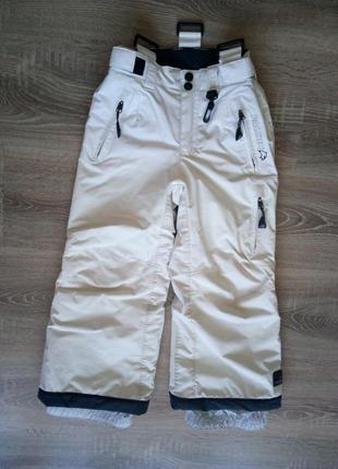 Детские теплые лыжные штаны