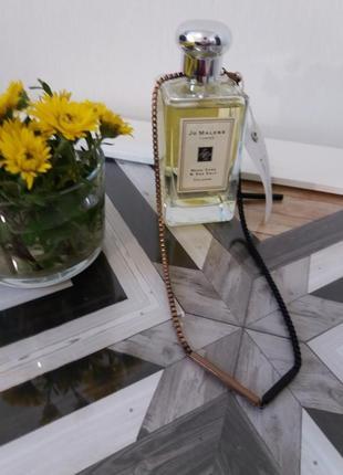 Колье качельки  в цвете черное и  бронза  &   other   stories