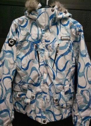 Лыжная куртка размер с-м 38