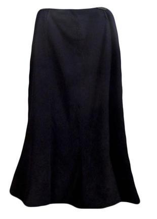 Плотная полиэстеровая юбка макси под велюр от next