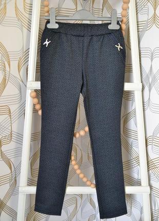 Школьные брюки mevis на девочку от 7 до 11 лет