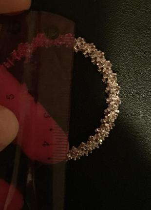 Новые серьги кольца bershka