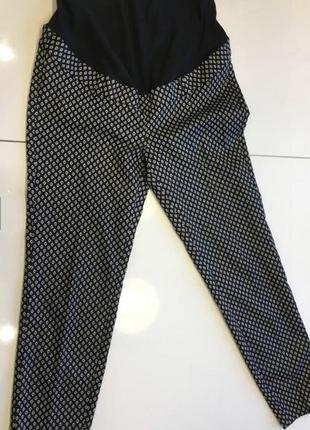Брюки штаны орнамент для беременных h&m