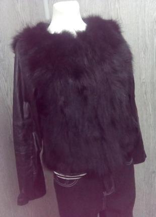Куртка !!! натуральный мех!!!