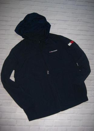 Брендовая куртка ветровка от tommy hilfiger