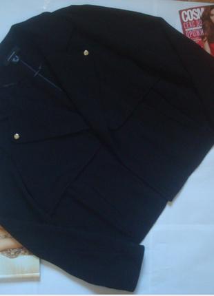 Черный осенний жакет /куртка /пиджак/бомбер atmosphere
