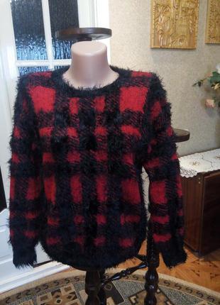 Кофта , свитер молодежный стильный , разм. 42-44, сост. идеальное