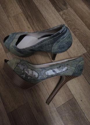 Туфли коттон