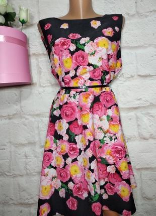 Платье миди  р18 debenhams