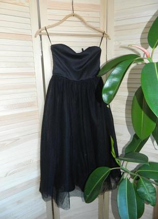 Сукня з фатіновою спідничкою