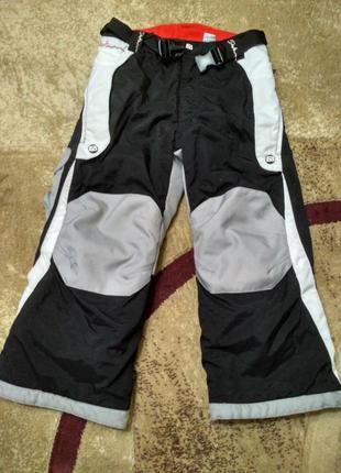 Зимние лыжные штаны 122 на 6-7 лет зимові лижні штани