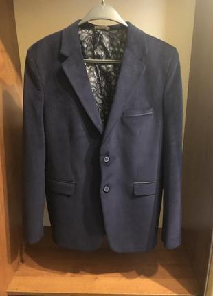Велюровый пиджак на подростка 15лет, рост 164-170