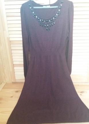 Шикарное трикотажное платье от tu