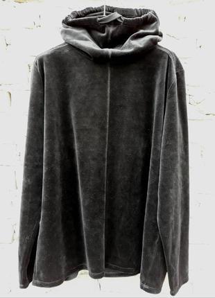 Пайта, флиска, флисовая кофта чёрная от c&a