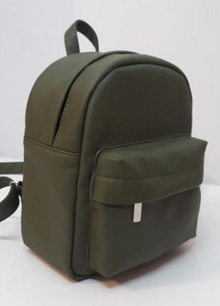 Женский рюкзак sambag брикс ssh зелёный для прогулок, учебы, спортзала