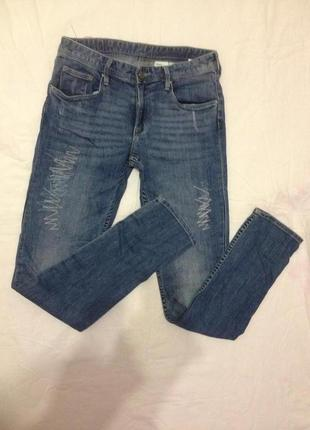 Узкие джинсы скинни denim co