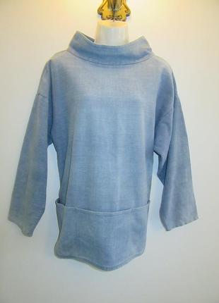Коттоновый свитер -блуза antono sheppard