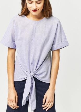 Хлопковая блуза warehouse , zara, mango