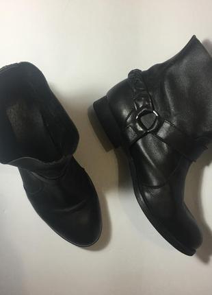 Ботинки  кожаные демизезон  осень р. 38