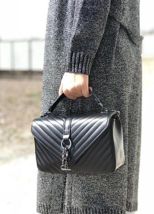 Женская кожаная сумка (натур. кожа, италия)