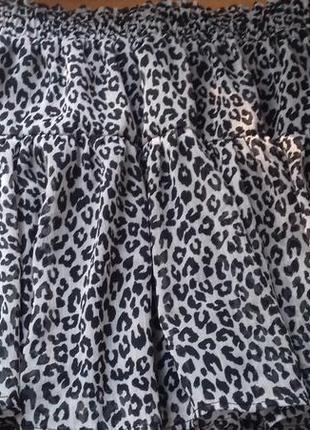 Шифоновая юбочка
